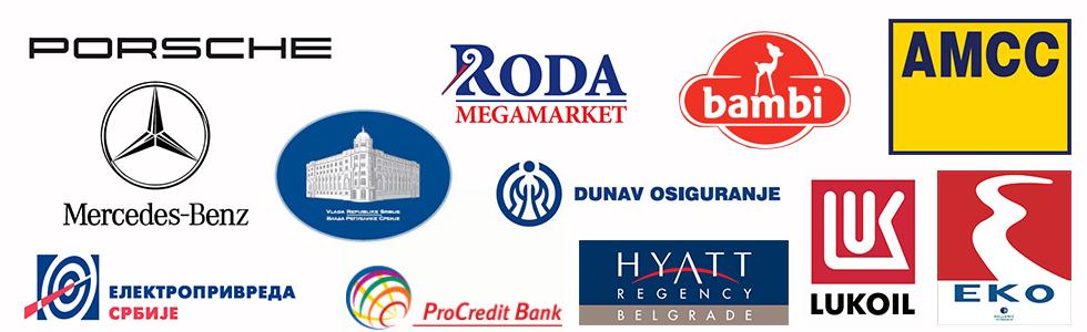 GMT Company reference klijenata.