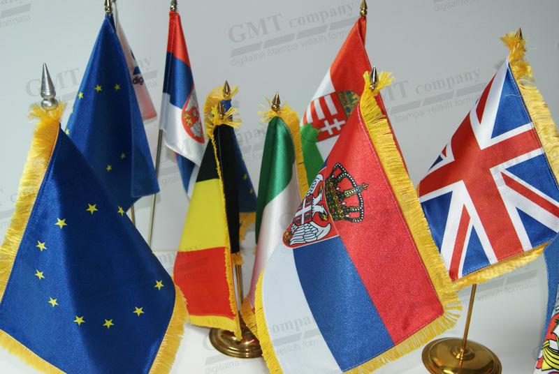 Stone zastave GMT.