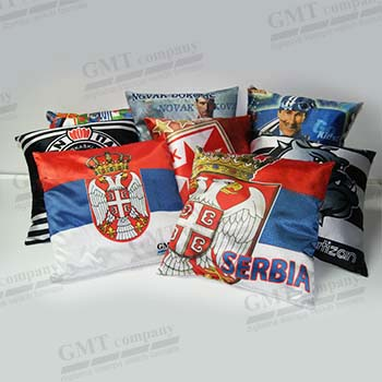 Reklamni jastuci.